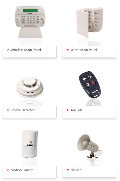 Home security service providers